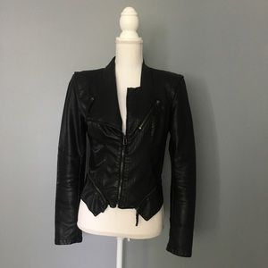 BLANKNYC Vegan Leather Jacket